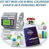 KIT NET WEB LOG 8 MAIL CALENDAR CHARTS EB 8 PERSONAL REPORT