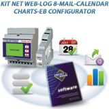 KIT NET WEB LOG 8 MAIL CALENDAR CHARTS EB CONFIGURATOR
